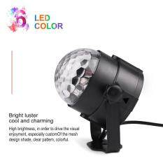Osman Led Crystal Magic Ball Stage Light Voice Control Disco Light Effect Light Black With Transparent Shell Us Plug By Osmanthus.