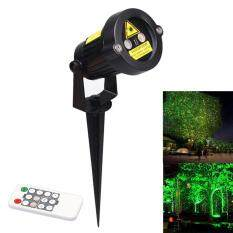 Outdoor Waterproof Green & Red Garden Tree Laser landscape Projector with 10 Feet Cable Christmas Lights – intl