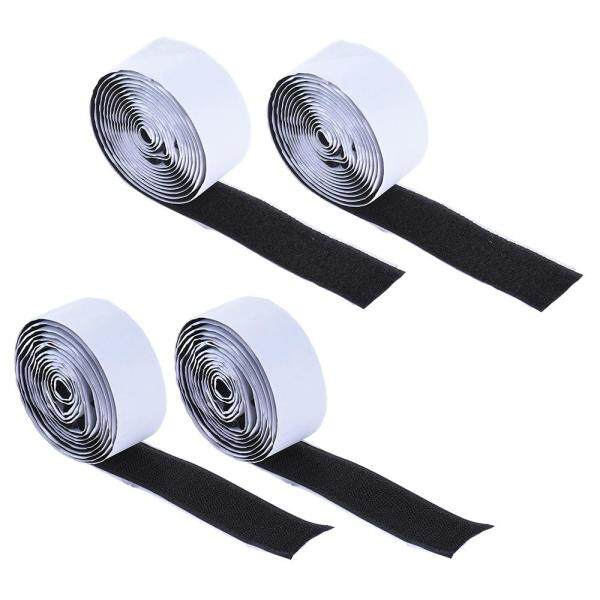 Pedalboard Pedal Mounting Tape Fastener Length 2M Width 3CM for Guitar Pedal Board, 4-Pack (2 Hook + 2 Loop) Malaysia