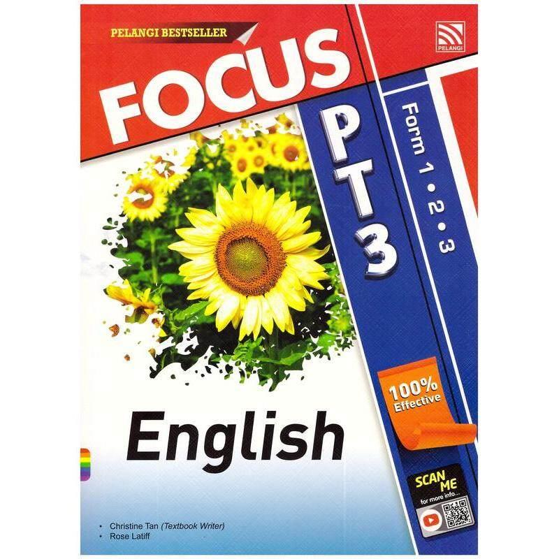 Pelangi Focus PT3 English Tingkatan 1,2 & 3 Malaysia