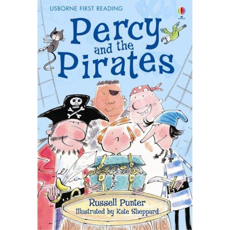 Percy And The Pirates (Usborne First Reading) Malaysia