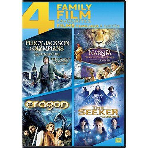 Percy Jackson & The Olympians: The Lightning Thief / The Chronicles Of Narnia: The Voyage Of The Dawn Treader / Eragon / The Seeker (4 Family Film Favourites) [Region 1] - intl