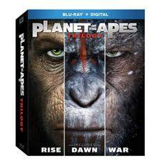 Planet of the Apes Trilogy (BD +Digital HD) [Blu-ray]