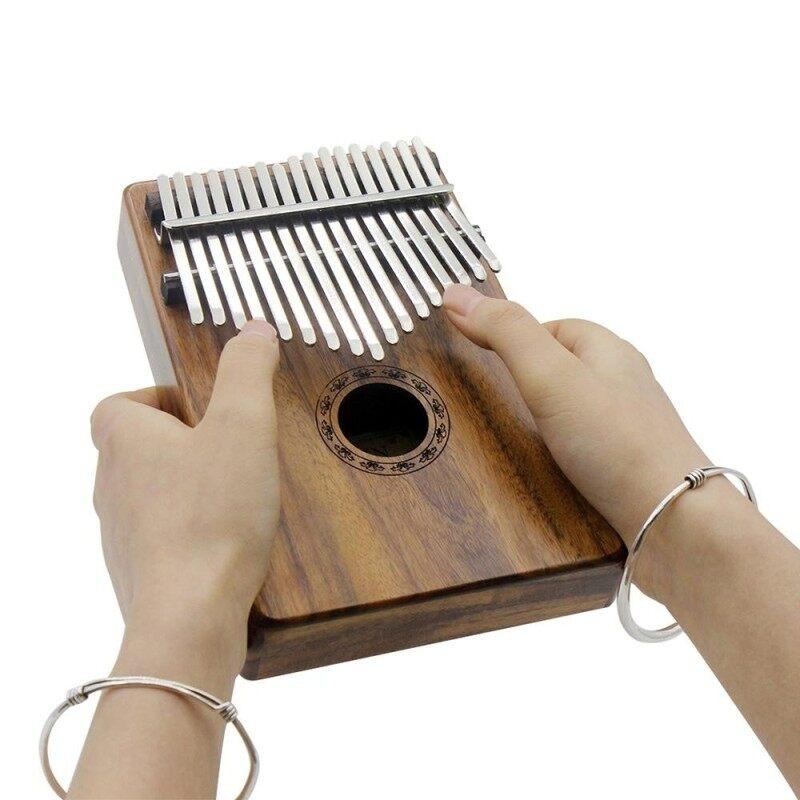 Portable 17 Key Kalimba Mbira Pocket Thumb Piano Solid Acacia Musical Instrument Malaysia