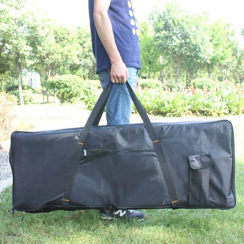 Portable 76-Key Keyboard Electric Piano Padded Case Gig Bag Oxford Cloth Black Malaysia