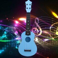 Professional 21 Acoustic Ukulele Musical Instrument High Quality(blue) By Welcomehome.
