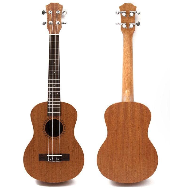 Professional 26 Inch Tenor Ukulele Uke Hawaii Guitar Sapele 18 Fret - Malaysia