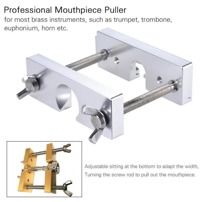 Professional Adjustable Mouthpiece Puller Remover Tool for Brass Trumpet Trombone Euphonium Horn Mouth Piece Silver Malaysia