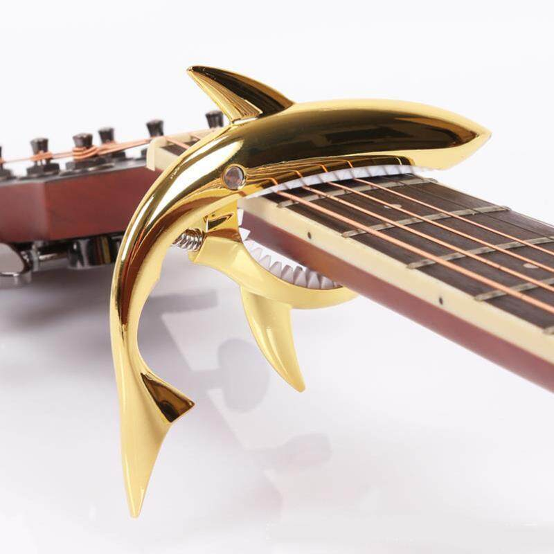 Professional Peculiar Shark Shape Guitar Capo Musical Instruments Parts Gift Malaysia