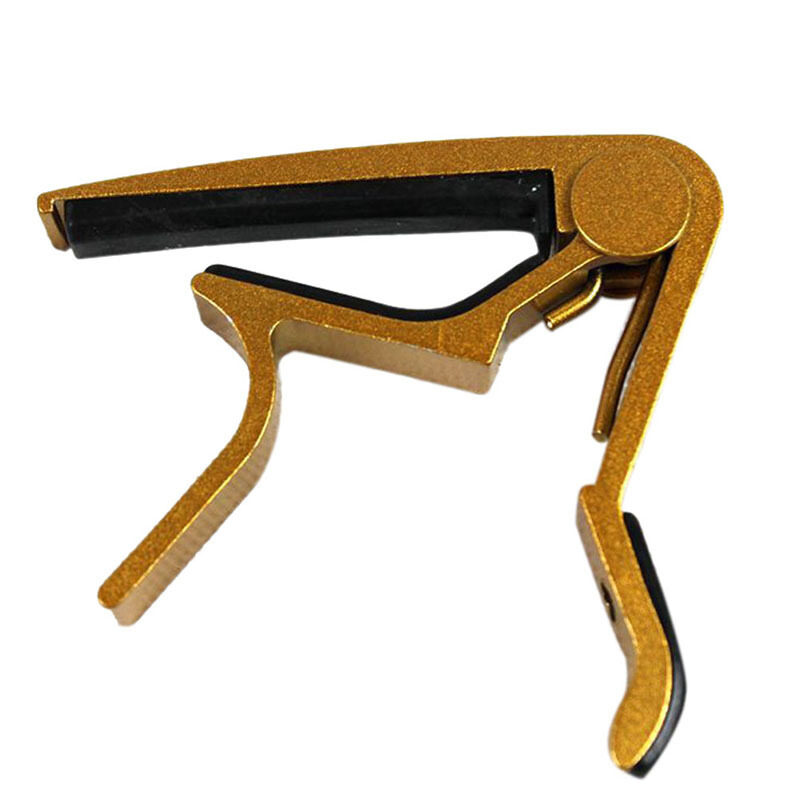 Quick Change Clamp Key Trigger Capo for Acoustic/Electric/Classic Guitar Gold Malaysia