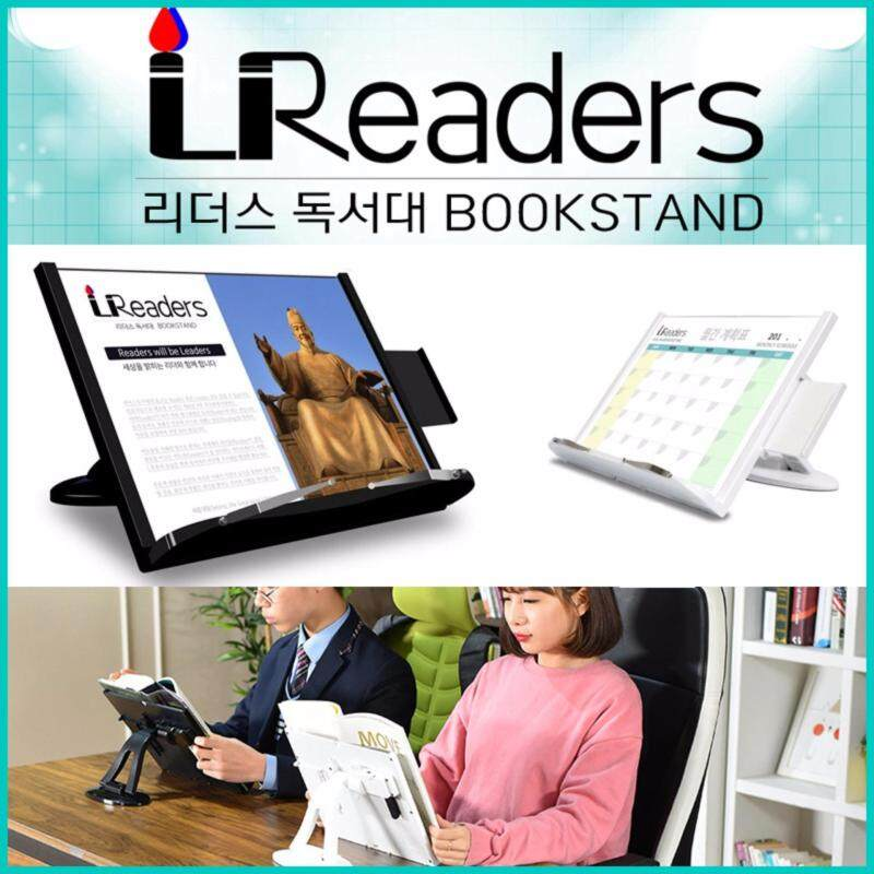 Readers Korea Portable Adjustable Clip Book Stand Reading Holder Bookstand Desk (White) Malaysia