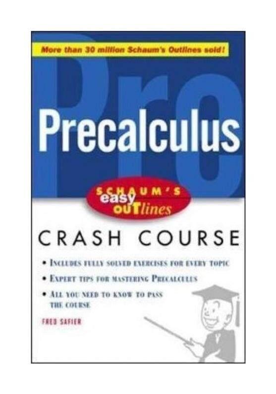 Barrons E-Z Precalculus