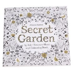 Secret Garden An Inky Treasure Hunt And Coloring Book English