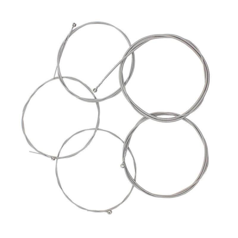 Set of 5 Steel Strings for 5 String Bass Guitar Malaysia