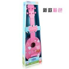 Small 38CM Genuine Peppa Pig Ukulele Toys Childrens Guitar Can Play Suitable For Beginners 1