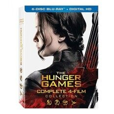 The Hunger Games: Complete 4 Film Collection By Buyhole.