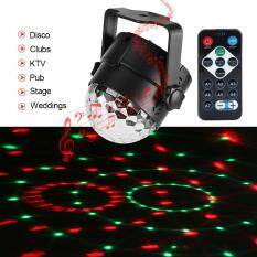 Tmishion 3w 110~240v Mini Rgb Led Stage Light Pub Disco Party Effect Lamp With Remote Controller (eu Plug) By Rubikcube.