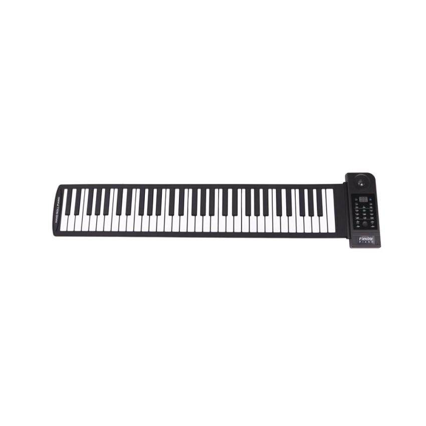 Purchase Tonliwin Exclusive Portable Electronic Music Keyboard With Usb Flexible Midi Synthesizer Piano With 61 Soft Silicone Keys Blac Intl