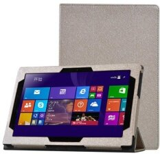 Tri-fold Stand PU Leather Case for Lenovo Miix3-1030 Tablet