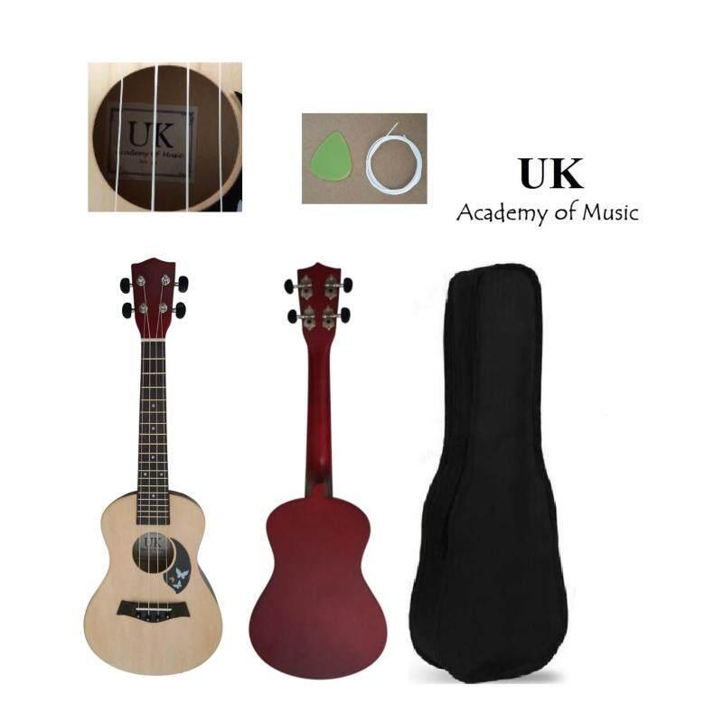 UK Concert Ukulele Professional Wood 24 Inch Free Bag, Extra One String and Pick Malaysia