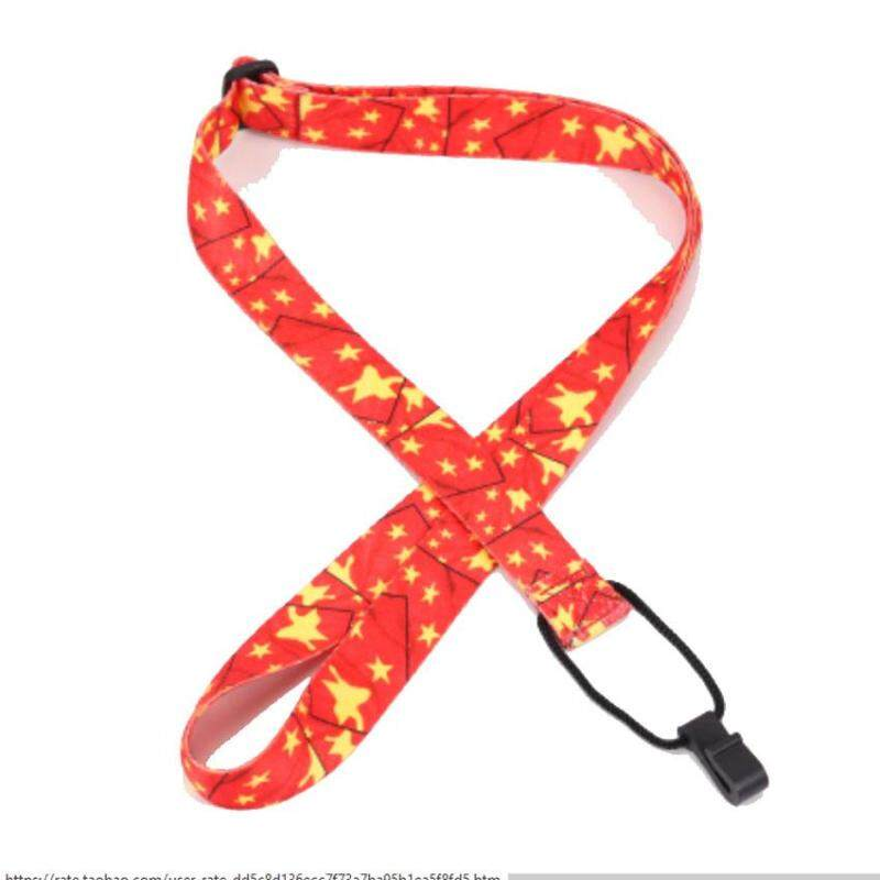 Ukulele Strap Adjustable Clip-on Guitar Neck Strap Loop Button colorful option Malaysia