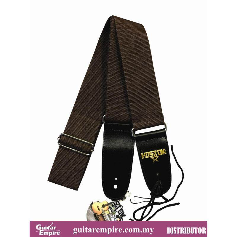 Vostok Guitar Strap Brown S201F-Suitable For Acoustic Guitar, Electric Guitar And Bass Guitar Malaysia