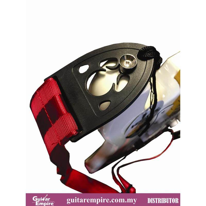 Vostok Guitar Strap Red S219 Locking Design-Suitable For Acoustic Guitar, Electric Guitar And Bass Guitar Malaysia