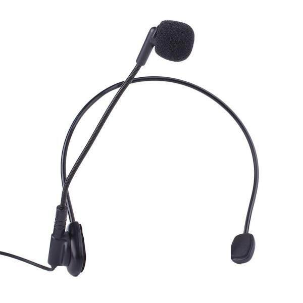 Wired Head Mounted Headworn Headset Microphone Mic Flexible Lightweight 3.5mm Malaysia