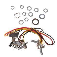 Wiring Harness with A500k B500k Pots 3-way Toggle Switch for ... on