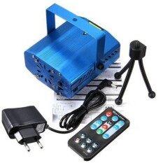 Yika Mini DJ Club Disco Projector Stage Laser Light Voice Control Ballrooms KTV Room