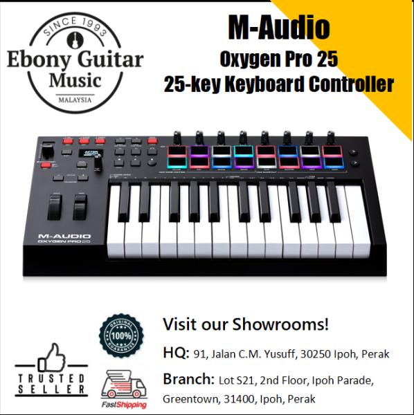 M-Audio Oxygen Pro 25 25-key Keyboard Controller Malaysia