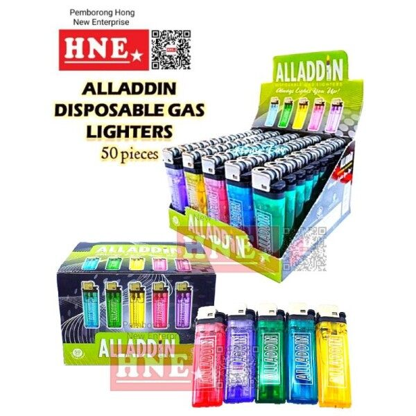 ☜❀  Quality Warranty!  Alladin Disposable Gas Lighter