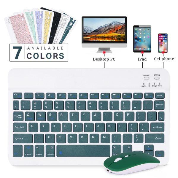 Mini Wireless Bluetooth Quiet Slim Keyboard and mouse for IOS&Android Windows Tablets 10 inch keyboard wireless bluetooth keyboard for tablet Malaysia