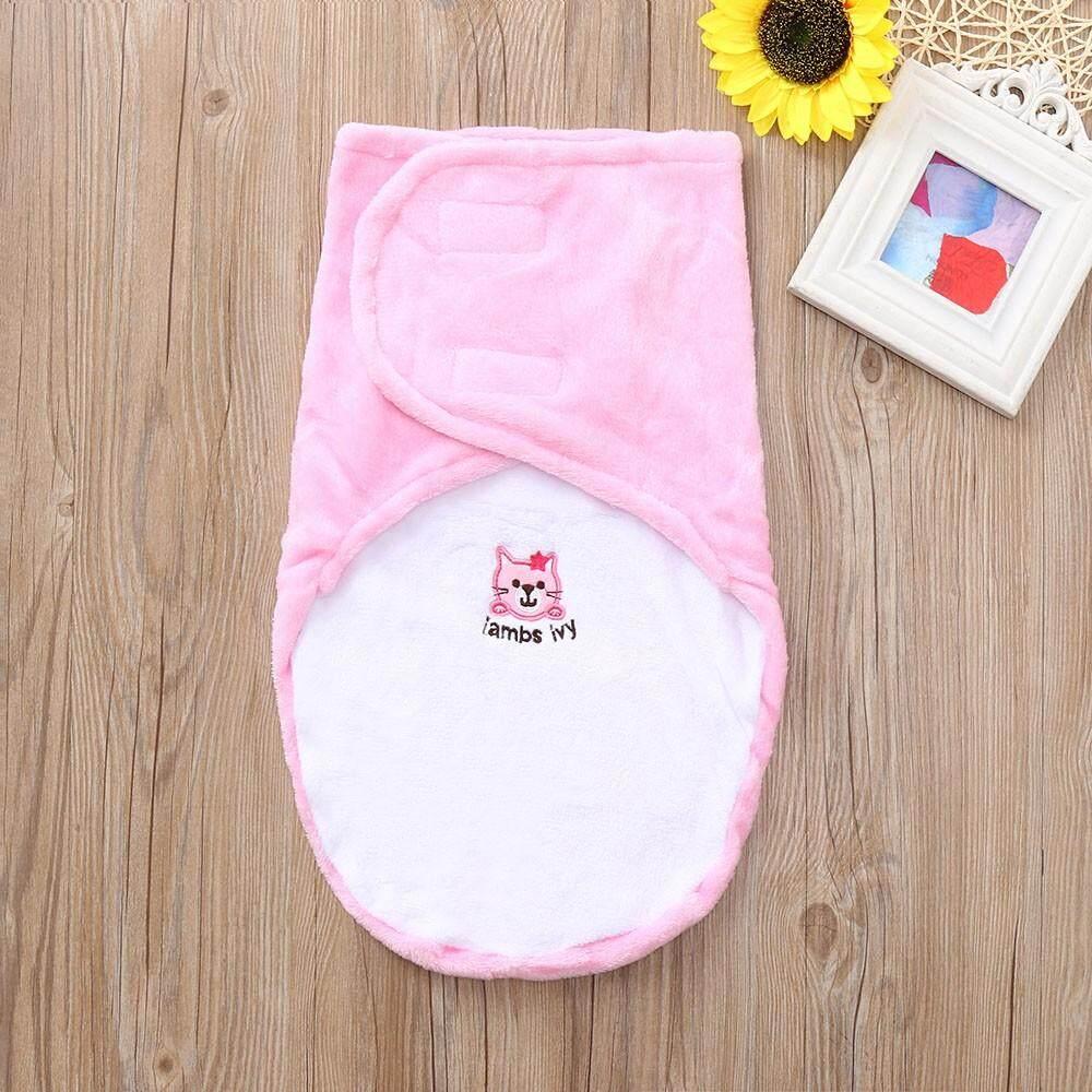 2019 จัดส่งฟรี Fashionborn เด็กทารกเด็กวัยหัดเดิน Swaddle นุ่มผ้าห่มนอน Wrap ถุงนอน By Ralphshop.