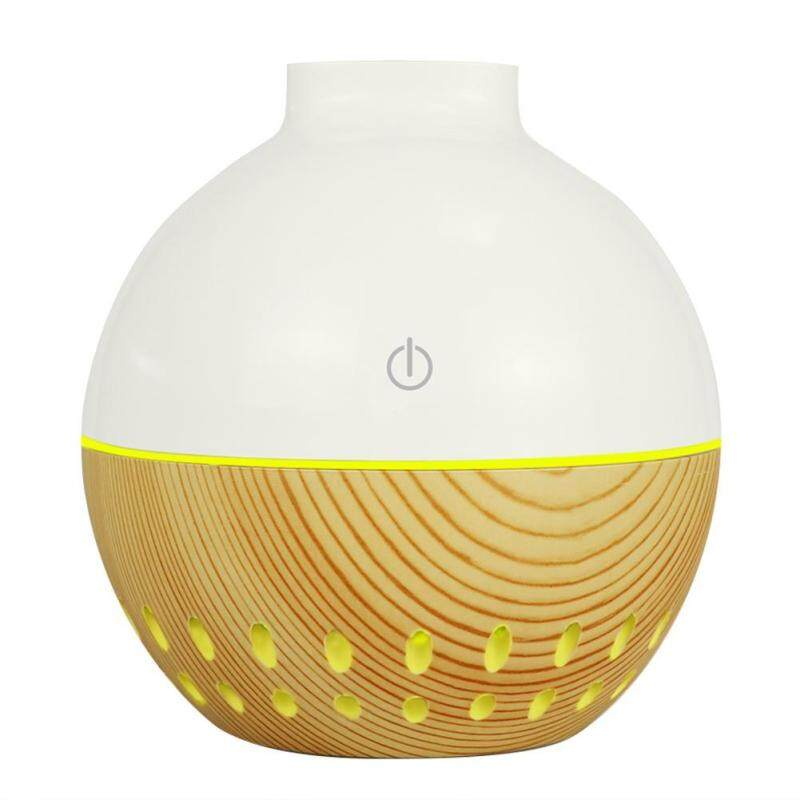 QUESTIONNO〔Low Price & High Quality〕130mL Wood Grain USB Aroma Essential Oil Diffuser Ultrasonic Air Humidifier Singapore