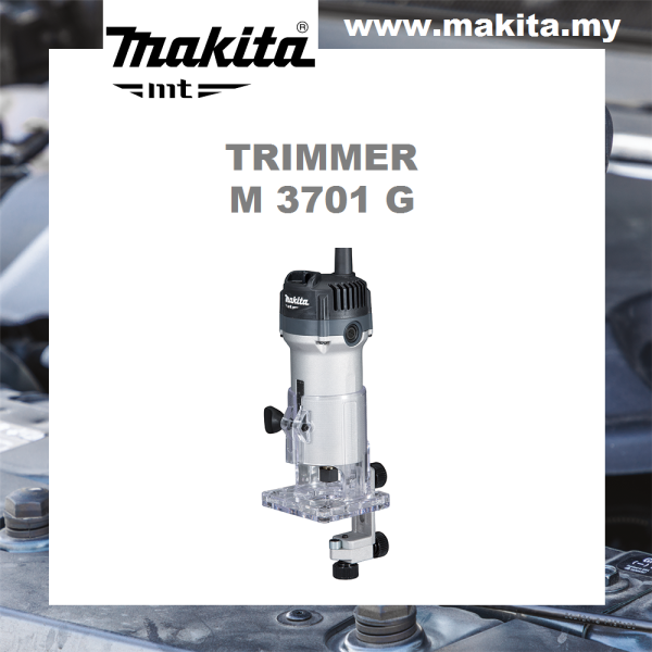 MAKITA Trimmer M3701G 6mm (1/4)