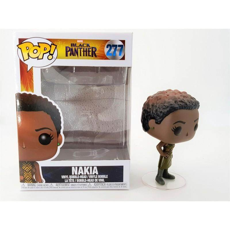 Nakia Toys FUNKO: POP Bobble: Black Panther