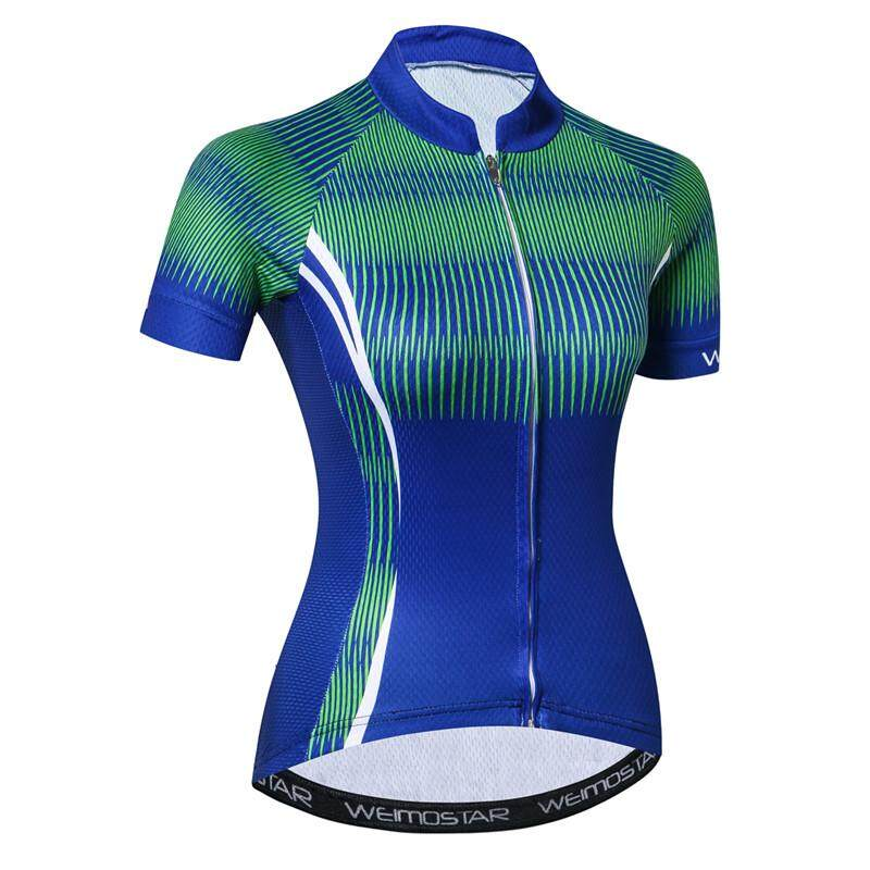 3362ddb0 Women Short Sleeve Cycling Clothing Quick Dry Bicycle mtb Jersey