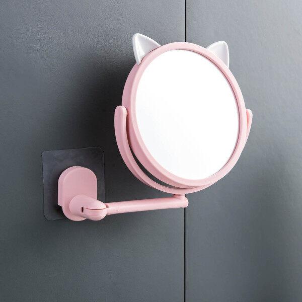 Homenhome Gương Xoay Gương Phòng Tắm Gương Trang Điểm Nhà Vệ Sinh Treo Tường Tự Dính giá rẻ