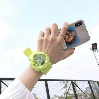 Microeco Wristwatch Unisex Lovers Couple Students Electronics Sport Fashion Children Unicorn Girls Water Resistant Luminous