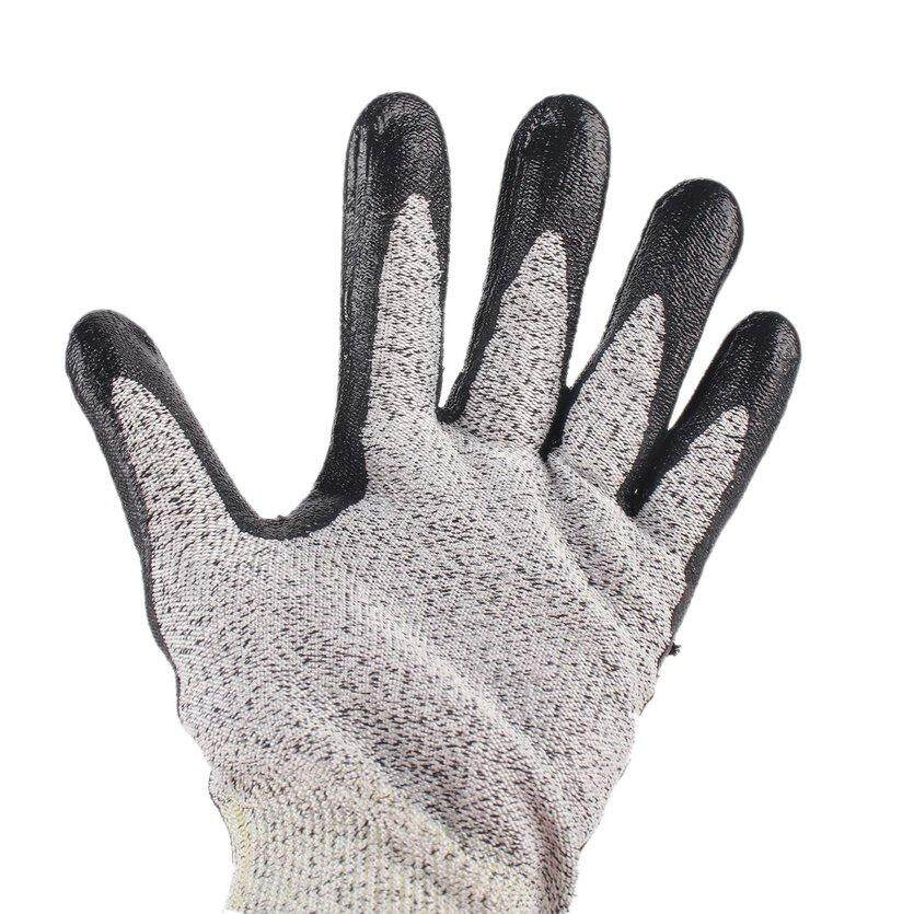 JUWE 1 Pair Anti-Abrasion Cut Resistant Electric Welding Industrial Tactical Gloves