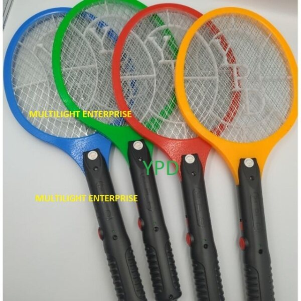 YPD Rechargeable Mosquito Insect Killer Racket Swatter Electronic Mosquito Bat Zapper Racket LTD-006 Indoor Outdoors Control Flying Insects Mosquito Fly