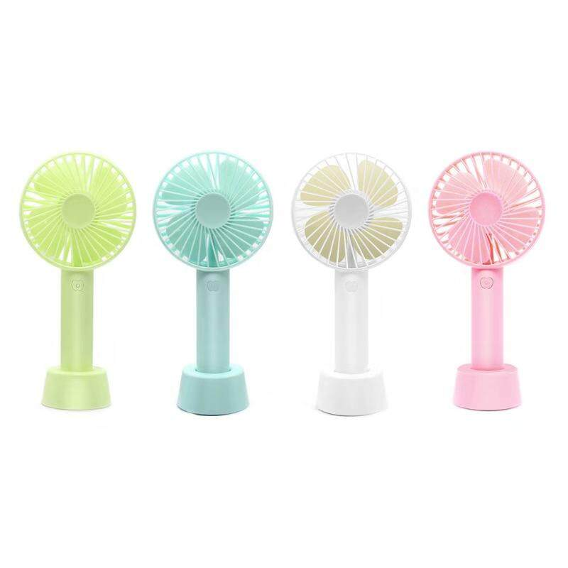 USB Rechargeable Mini Table Fan Air Cooler & Hand Held Portable [READY STOCK]