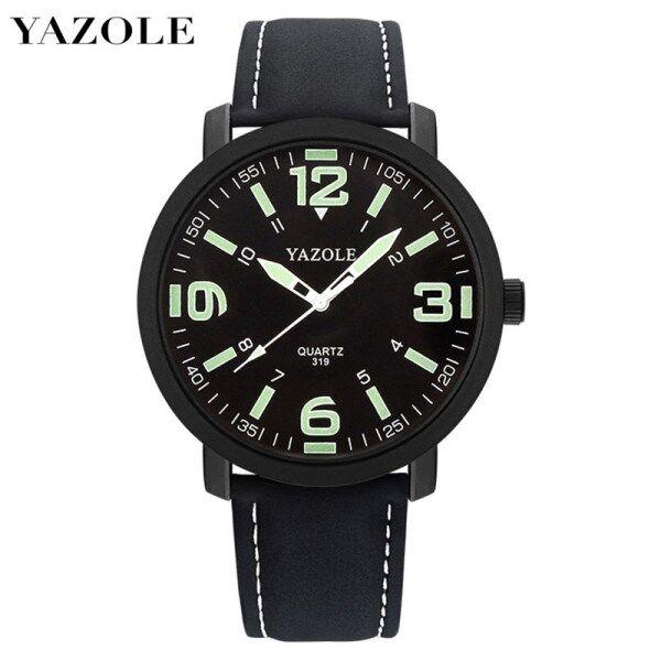 YAZOLE 319 Top Luxury Brand Watch For Man Fashion Sports Men Quartz Watches Trend Wristwatch Gift For Male jam tangan lelaki Malaysia