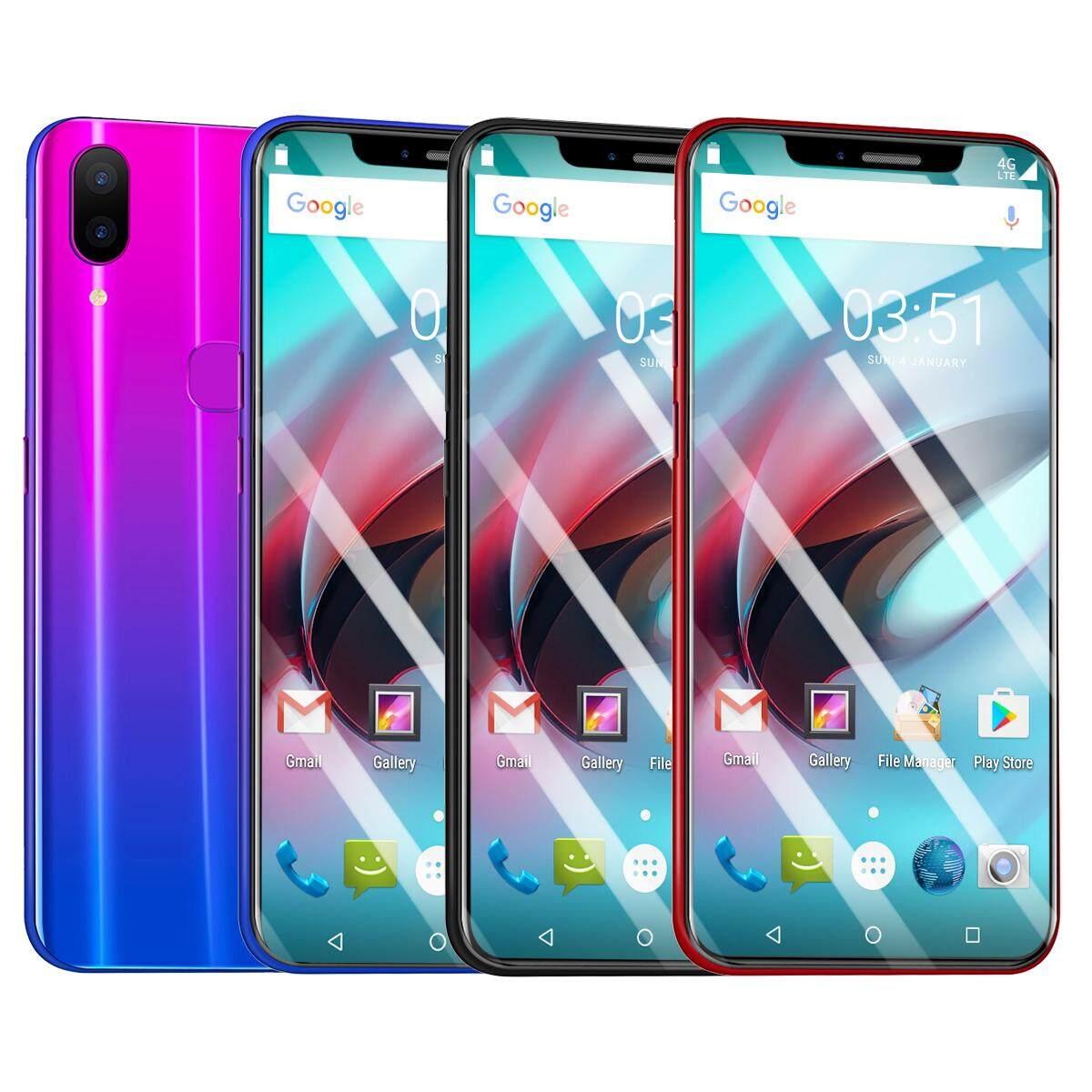 Baru X21 Android Smartphone 6.2 Inci HD Layar Besar 4G Memori RAM Sidik Jari Membuka Satu Mesin