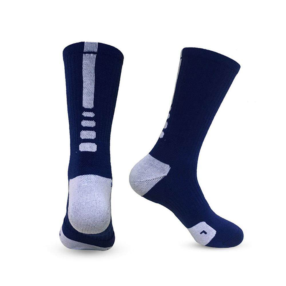 Auoker 1 Pair Professional Basketball Elite Socks Fashion Outdoor Sports Athletic Sport Socks For Men By Auoker.