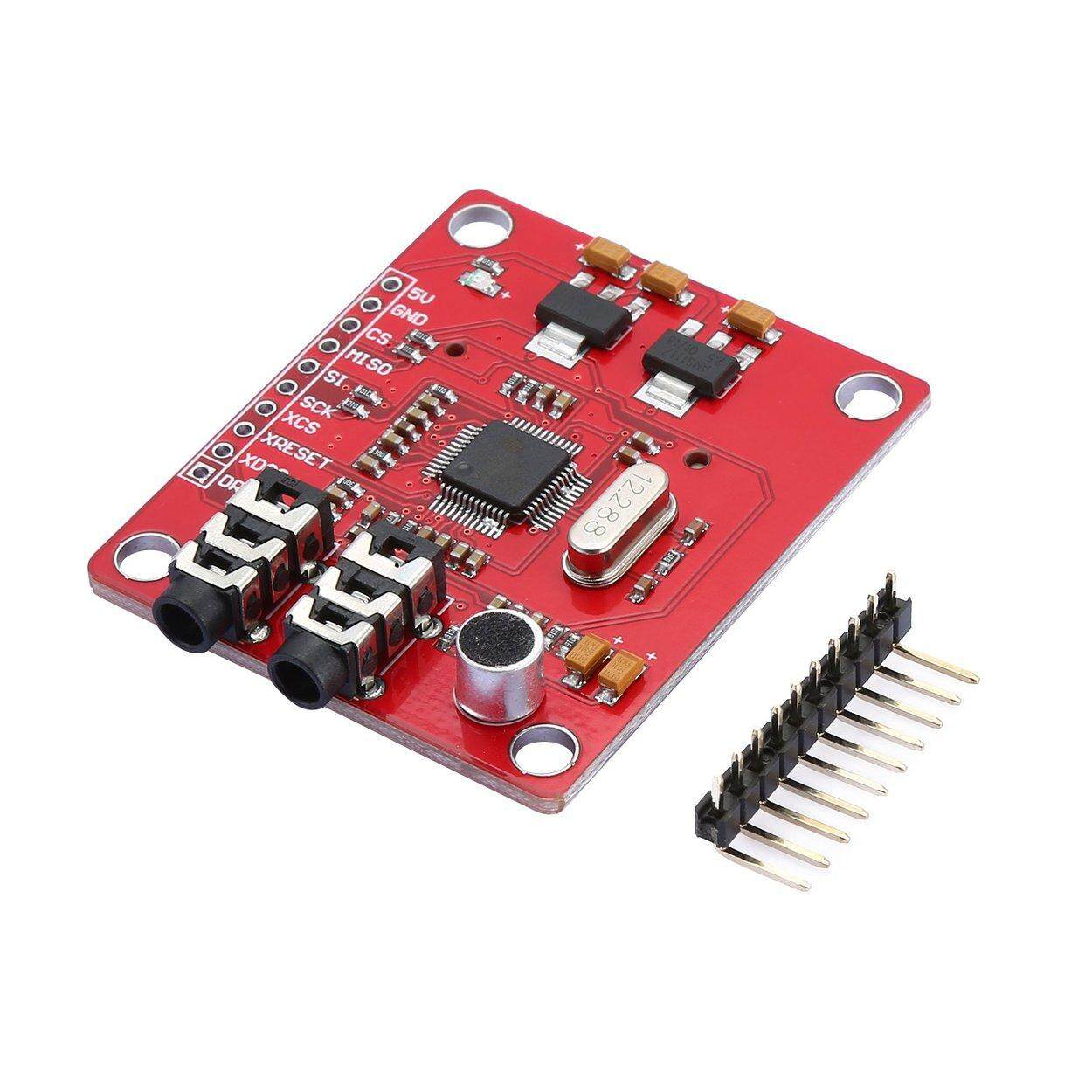 Best Deal VS1053 MP3 Extension board Module With SD Card Slot Ogg Real-time Recording