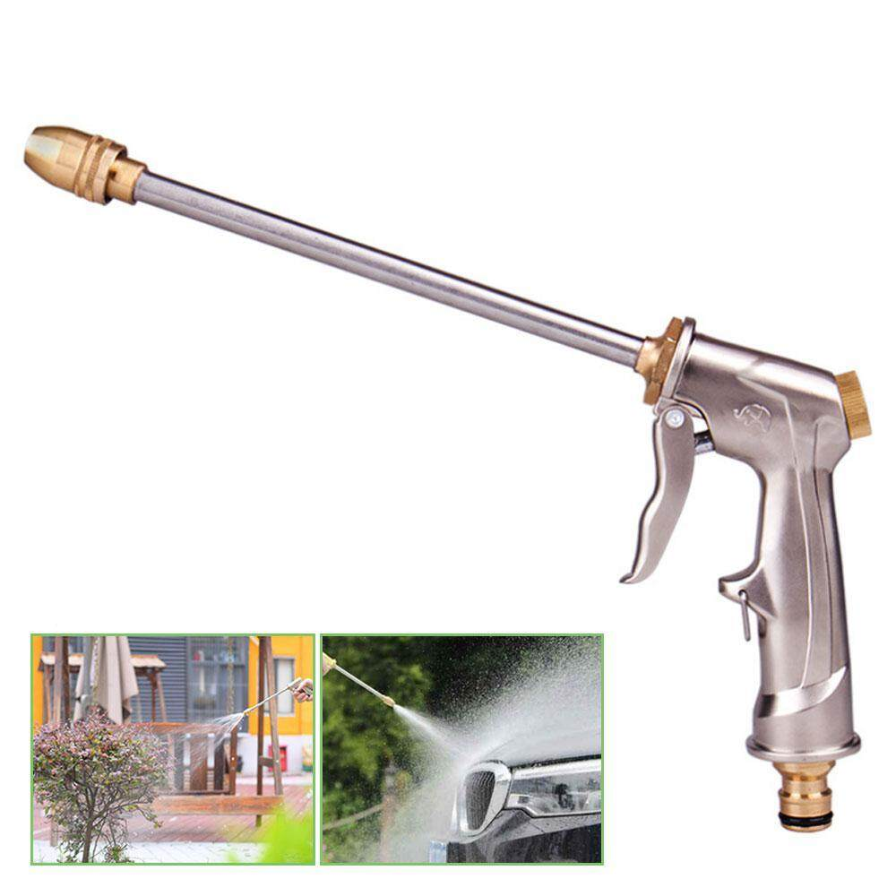 Goodgreat Metal High Pressure Garden Water Hose Nozzle,car Wash Nozzle With Brass Connector By Good&great.