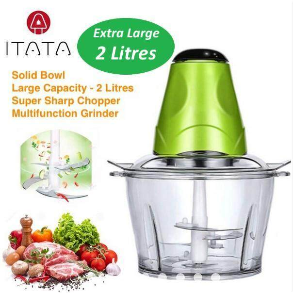 Itata 2l Electric Meat Grinder Multi-Function Small Side Dish Blender Mixing Food Meat Grinders By Freemarket Lifestyle Trading.