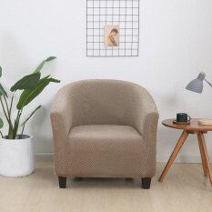 Sliver Xám Spandex Đàn Hồi Cà Phê Bồn Tắm Sofa Ghế Bành Ghế Bảo Vệ Đồ Nội Thất Có Thể Giặt Đồ Trang Trí Nội Thất Ghế. Sử Dụng Rộng Rãi Bảo Vệ Đầy Đủ: